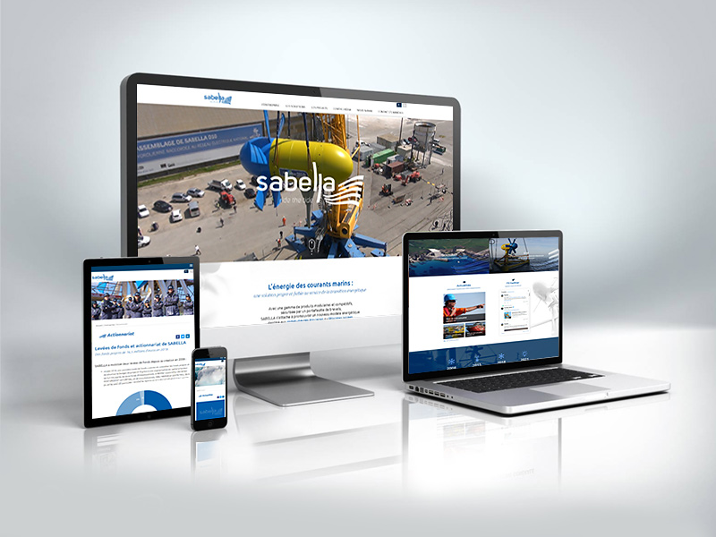 Brand new Website for Sabella!